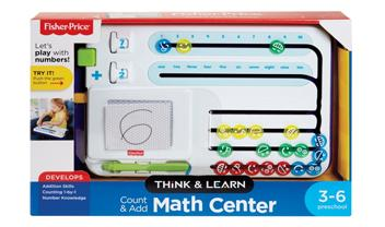 Think & Learn Count & Add Math Center