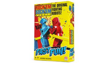 Rock'em Sock'em Robots Fast Fun Game Mini Travel Size