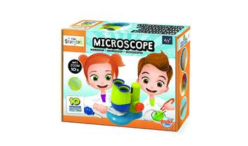 Mini Sciences Children's First Basic Toy Microscope 10X Magnification Lab Science Kit