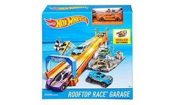 Hot Wheels® Rooftop Race™ Garage Playset