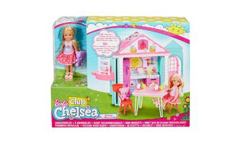 Barbie® Club Chelsea™ Doll and Clubhouse