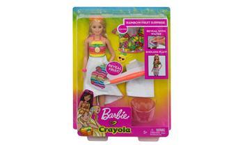 Barbie® Crayola® Rainbow Fruit Surprise Doll & Fashions