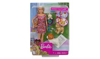 Barbie® Doggy Daycare™ Doll & Pets