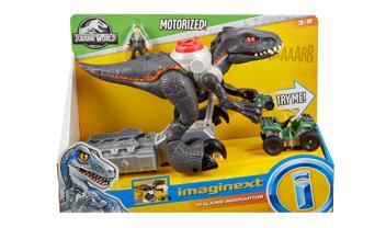 Imaginext Jurassic World Walking Indoraptor Dino