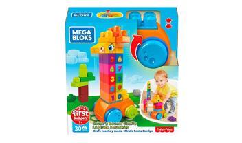 MegaBloks Count & Bounce Giraffe