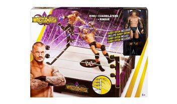 WWE WrestleMania 34 Ring With Exclusive Figure
