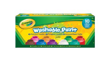 10 Pots of Paint - Washable