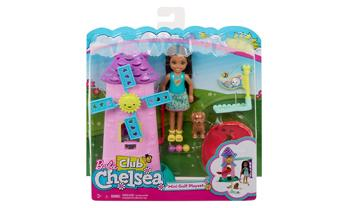 Barbie® Club Chelsea™ Mini Golf Doll and Playset