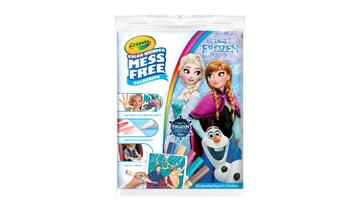 Crayola Color Wonder Coloring Pad and Markers, Frozen