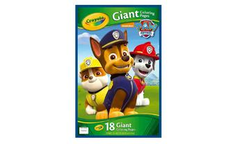 Giant Coloring pages & Stickers PawPatrol