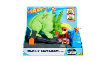Hot Wheels® Smashin' Triceratops Play Set