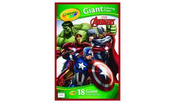 Avengers Giant Coloring Pages