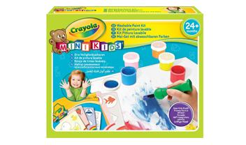 Mini Kids Washable First Paint Set
