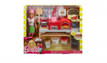 Fhr09 Barbie® Pizza Chef Doll and Playset